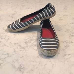Sperry Striped Flats